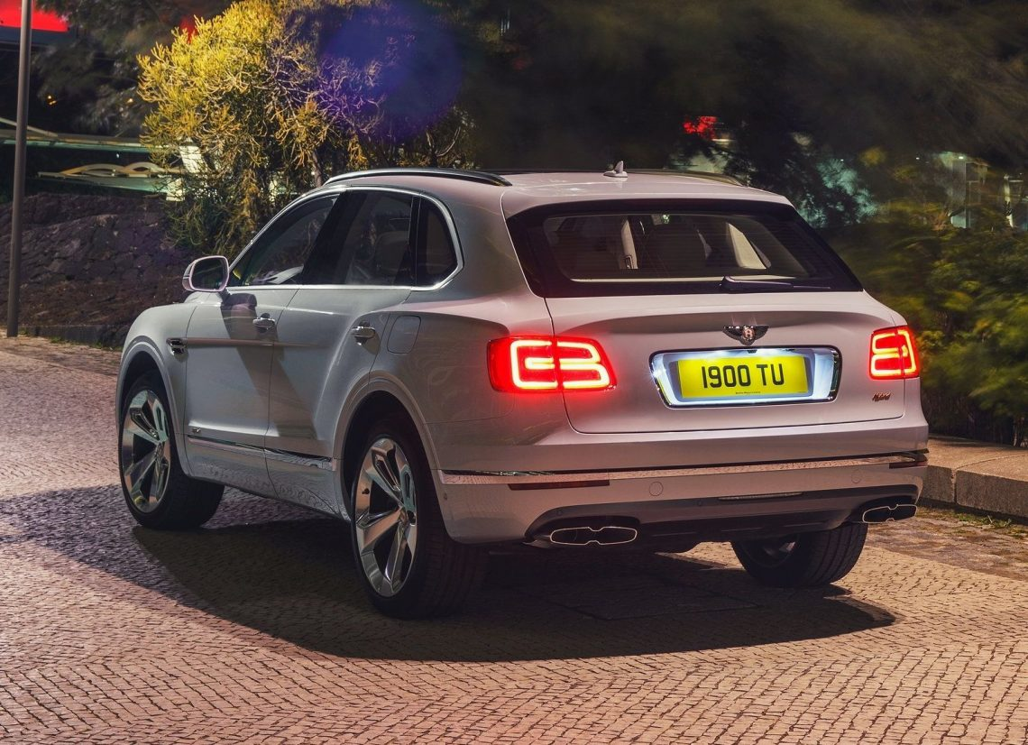 Bentley Bentayga plug-in Hybrid