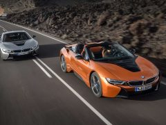 BMW i8 Roadster en BMW i8 Coupé