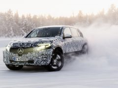 Mercedes-Benz EQC Prototype