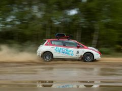 Nissan Leaf AT-EV Mongol Rally
