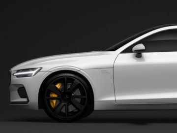 Polestar 1: Matt Black Rims
