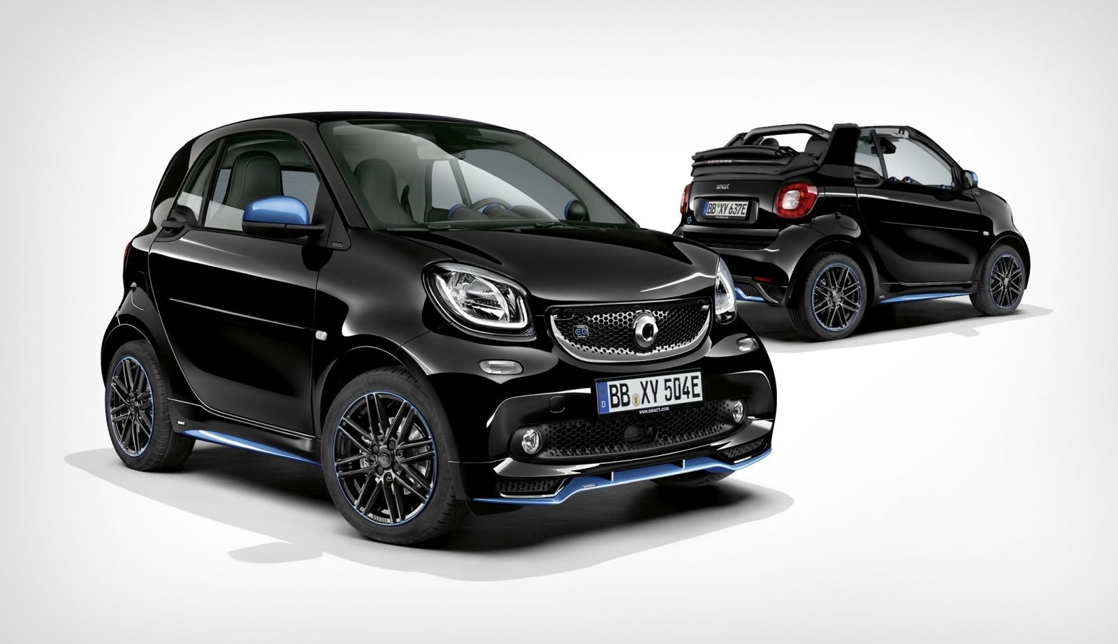 Smart EQ Fortwo en Smart EQ Forfour
