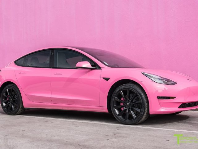 Project Pinky Tesla Model 3