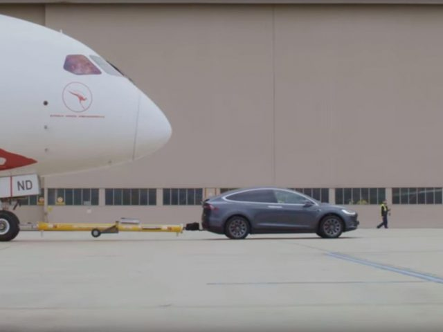 Boeing Dreamliner Tesla Model X