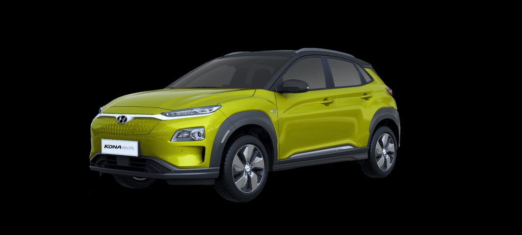 Hyundai Kona Electric - Acid Yellow