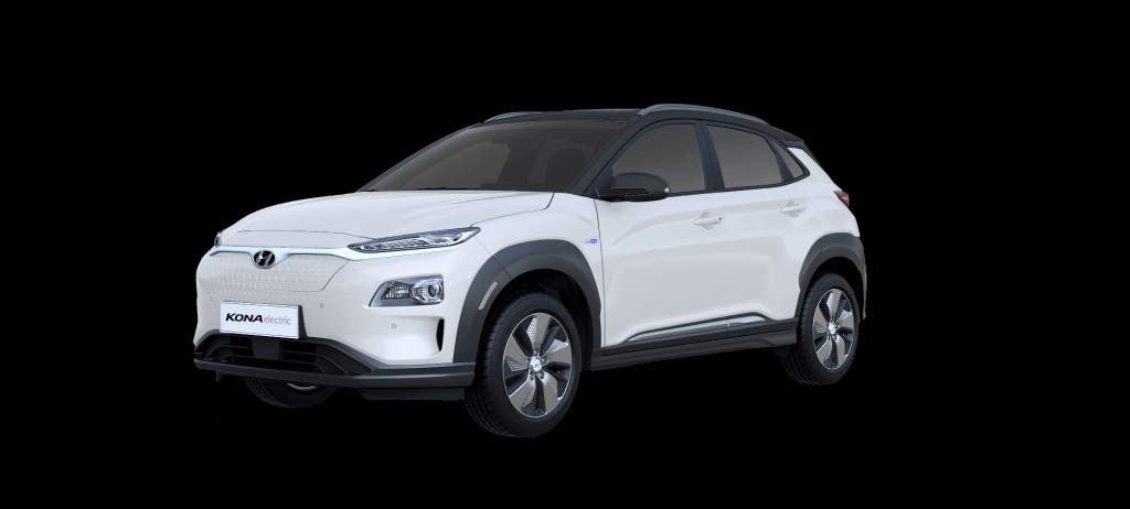 Hyundai Kona Electric - Chalk White