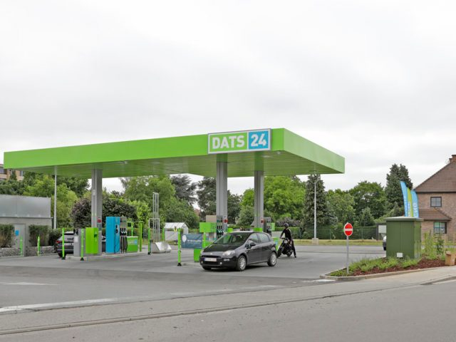 Colruyt Group - Wterstoftankstation Halle