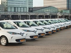 Renault ZOE fetch carsharing