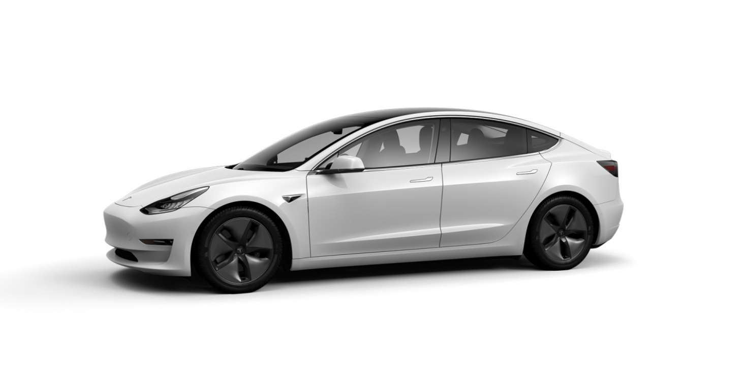Tesla Model 3 - Pearl White Multi-Coat