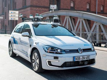 Volkswagen e-Golf Level 4 Autonoom