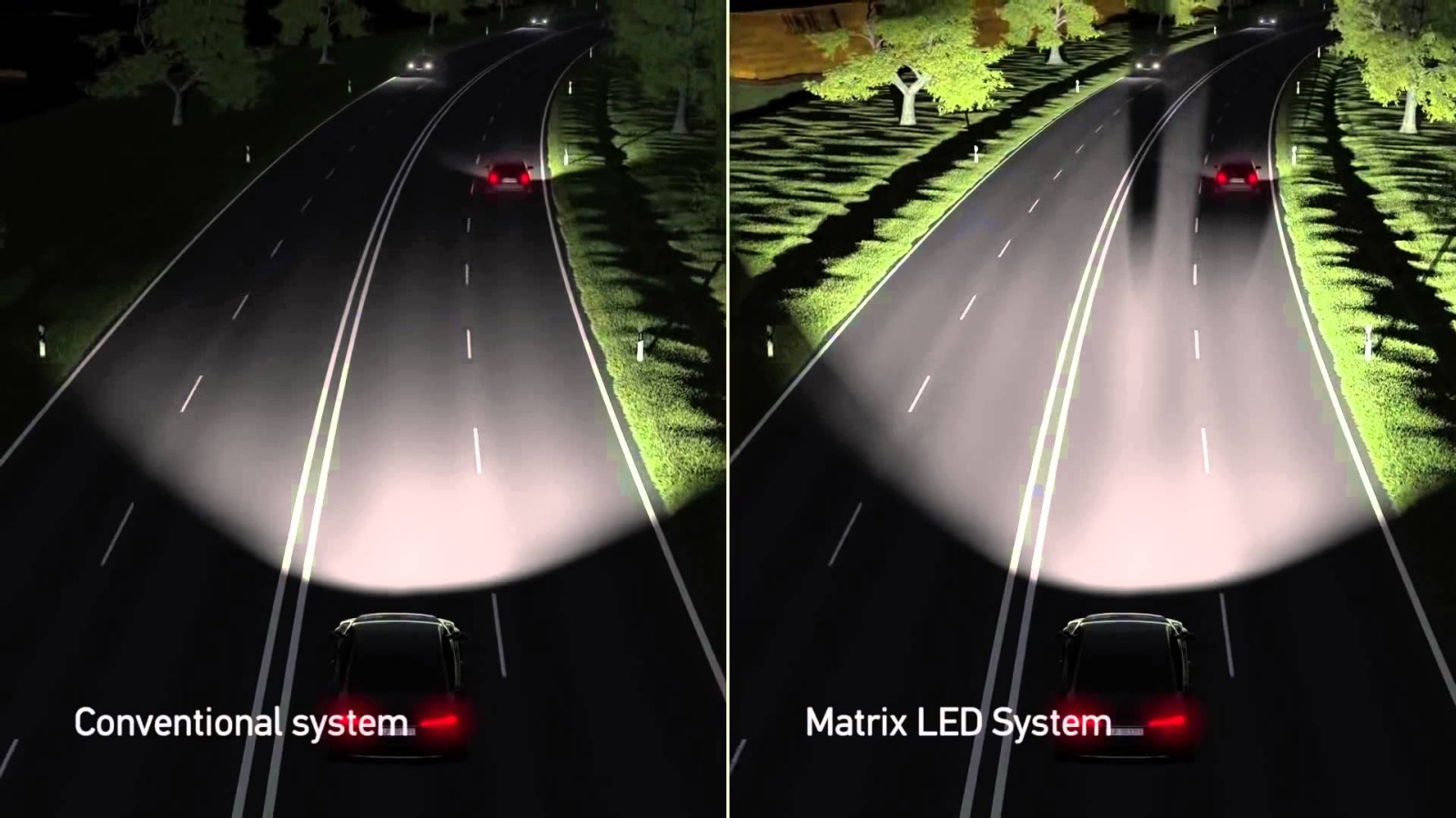 Matrix LED-systeem