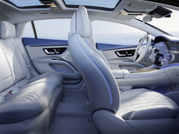 Mercedes-EQ, der neue EQS, Interieur Design // Mercedes-EQ, the new EQS, interior design